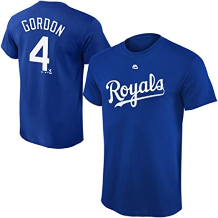 29dd4481 VF Kansas City Royals MLB Majestic Alex Gordon Player Shirt Royal Blue Big  & Tall Sizes