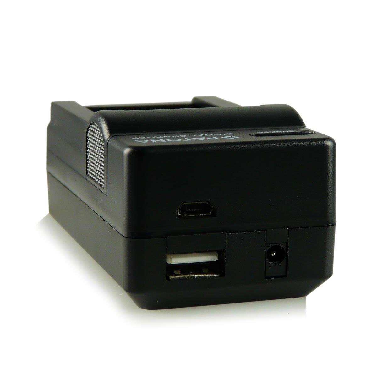 Bundle Bater/ía LP-E10 para Canon EOS 1100D EOS 1200D EOS 1300D EOS Rebel T3 EOS Rebel T5 EOS Rebel T6 EOS Kiss X50 EOS Kiss X70 EOS Kiss X80 4en1 Cargador
