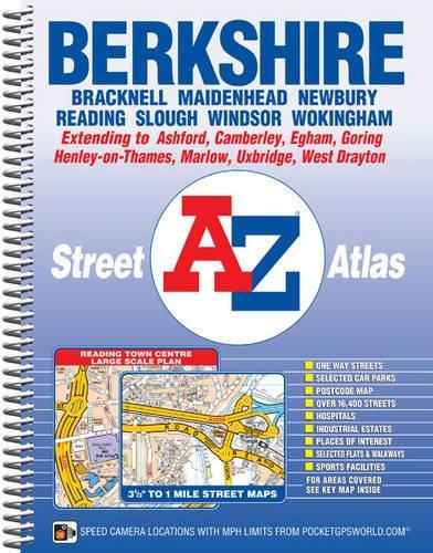 A-Z Berkshire (A-Z County Atlas)