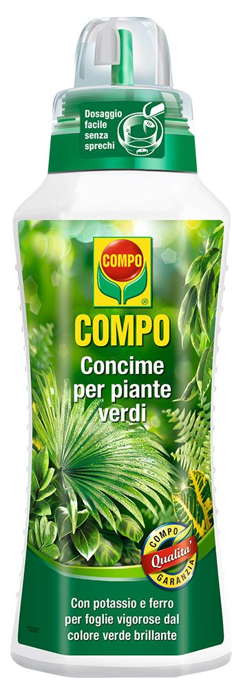 Compo Fertiliser for Green Plants 500 ml Compo Italia 1443102005