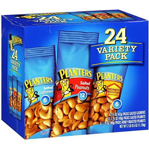 Large Product Image of Planters Nut 24 Count-Variety Pack, 2 Lb 8.5 Ounce