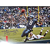 $69 » MATT HASSELBECK AUTOGRAPHED SEATTLE SEAHAWKS 16X20 PHOTO MCS HOLO STOCK #111400
