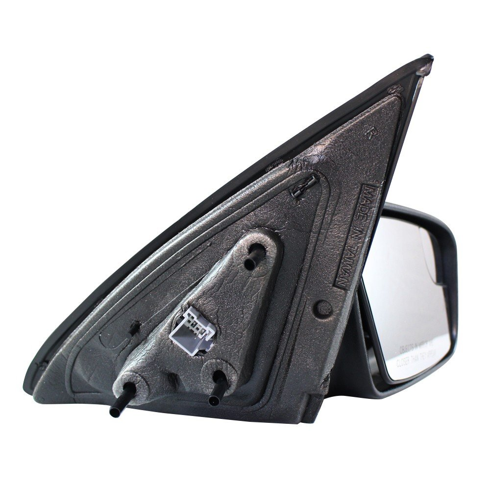 Titanium Plus 2011-2011 Mercury Milan Front,Right Passenger Side DOOR MIRROR SMOOTH POWER,HEATED,WITH PUDDLE LAMP