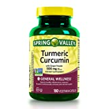 Spring Valley Turmeric Curcumin 500mg with Ginger