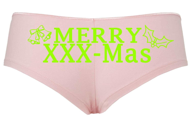 Knaughty Knickers Christmas Merry XXX-Mas Panties X-Rated Porn Star Panties