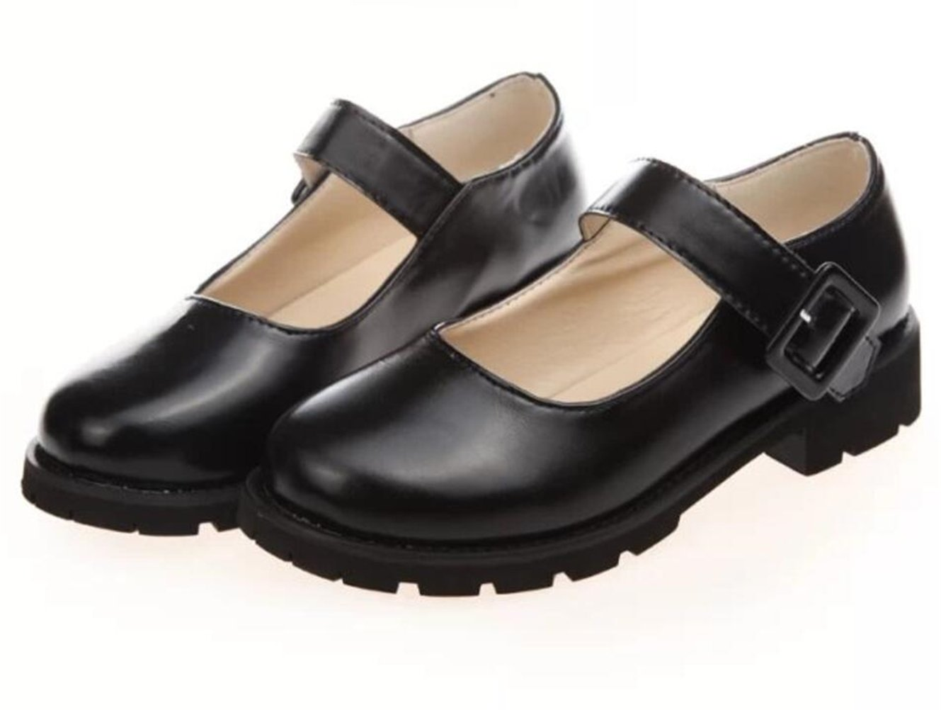 ACE SHOCK Women's Girl's Lolita Low Top Japanese Students Maid Uniform Dress Shoes (5.5, Black) by ACE SHOCK (Image #9)