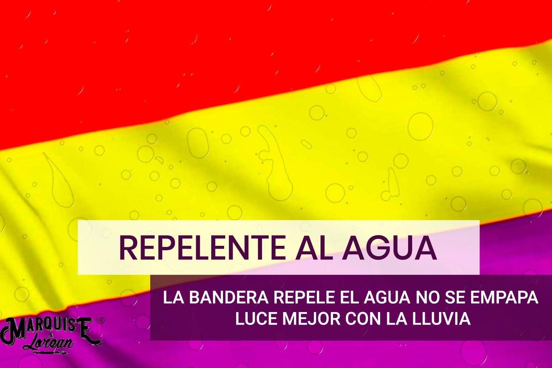MARQUISE & LOREAN Bandera Republicana Española Grande Súper Resistente Si Te Sientes Republicano en España Mira Aquí: Amazon.es: Hogar