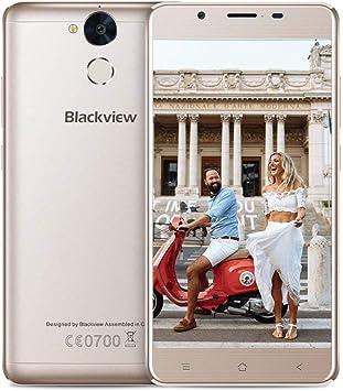 Blackview P2-6000mAh batería Smartphone Libre Dual SIM 4G (Octa Core, 4GB RAM, 64GB ROM, cámara 13MP/8MP, 5.5