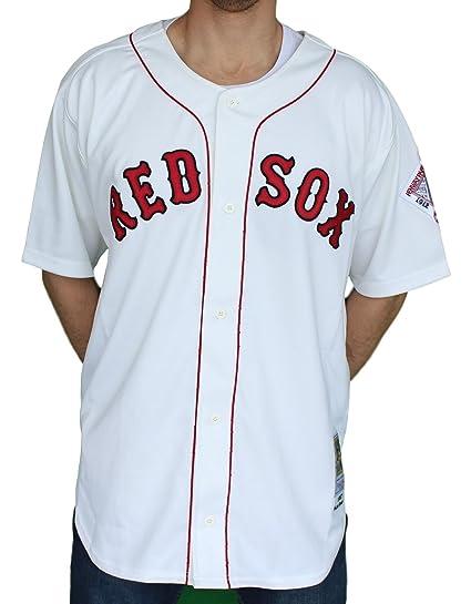 e93099da Amazon.com : Wade Boggs Red Sox 1987 Jersey Mitchell & Ness 52 ...