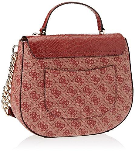 5x18x24 femme portés cm Bordeaux Guess main Sacs Rosso 10 H x Hwsp6786180 L W SInEqaE8