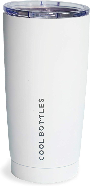 Vaso con Tapa para Bebidas fr/ías o Calientes Vaso t/érmico caf/é 330 ml Cool Bottles Vaso T/érmico de Acero Inoxidable Termo Caf/é para Llevar Vaso T/érmico Libre de BPA