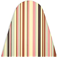 Encasa Homes 'Luxury Line' Ironing Board Cover with Extra Thick PAD,Multistripes