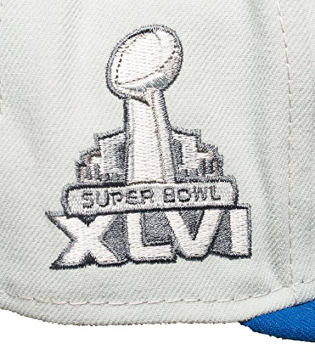 New Era NFL NEW YORK GIANTS Side Patcher SB XLVI 59FIFTY Cap