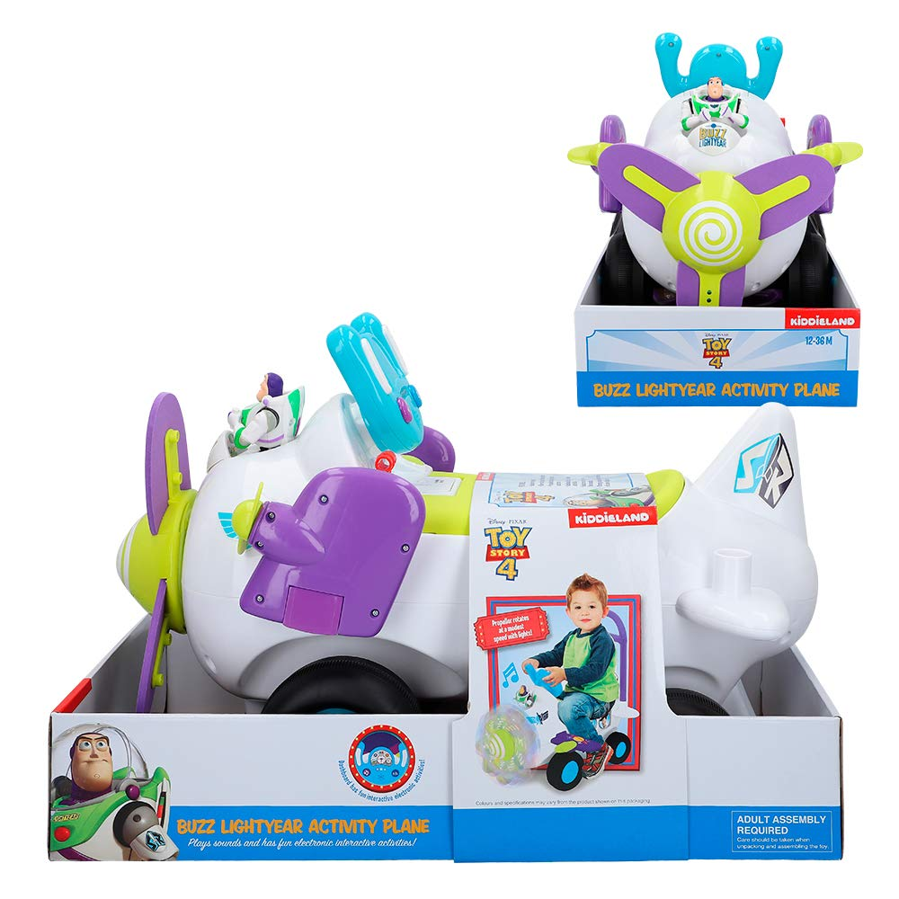 Disney- Correpasillos avión interactivo Buzz Toy Story 4 ...