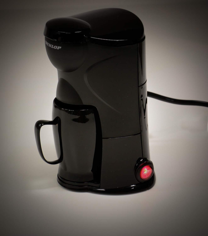 Dauerfilter schwarz Befestigungsmaterial 12V//170W f/ür PKWs Bubble-Store Kaffeemaschine f/ür 1 Tasse mit Becher