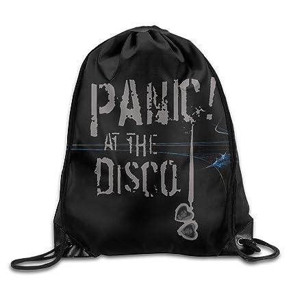 607e8f08ca74 Amazon.com: Creative Design Panic At The Disco Drawstring Backpack ...