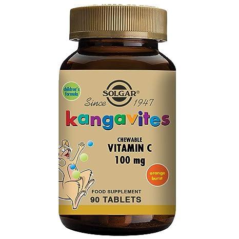 Solgar Kangavites Vitamina C - 90 Tabletas