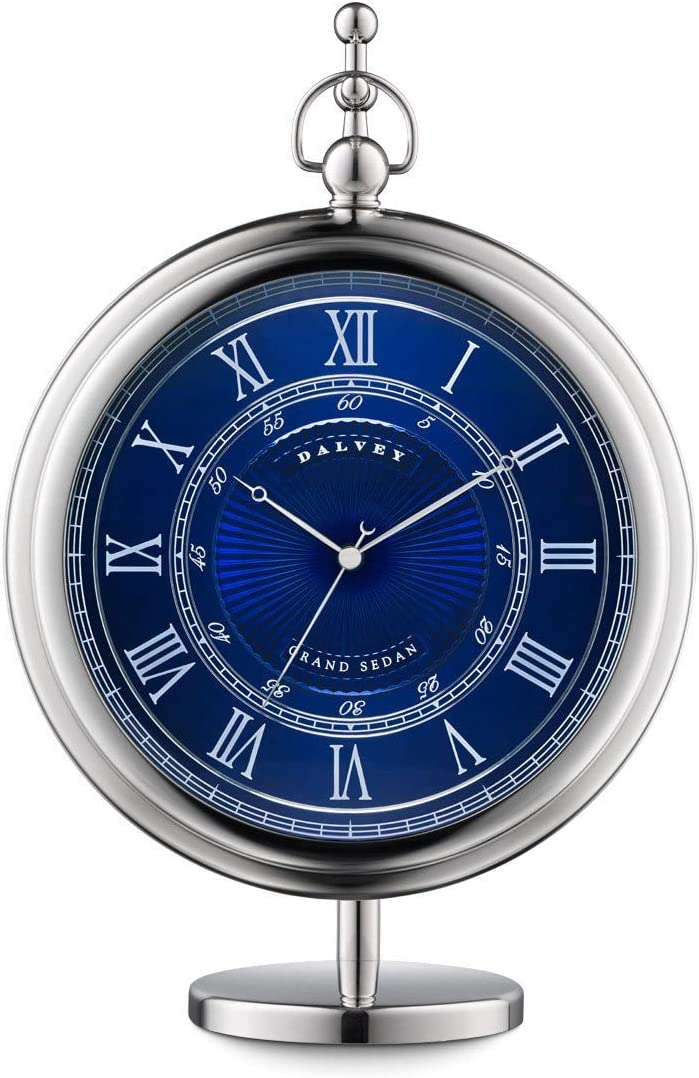 Dalvey Grand Sedan Clock Blue