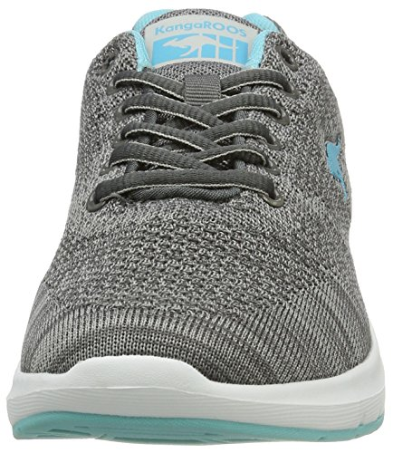 KangaROOS Damen Start One K W Sneaker Grau (Zephyr Grey/Blue Radiance)
