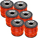 6 Pack 095 Square 5lb Commercial String Trimmer Line Echo Stihl RedMax