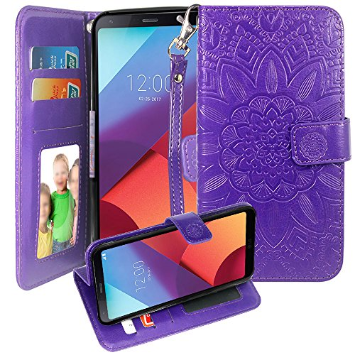 Galaxy S8 Active Case, Harryshell PU Leather Kickstand Flip Wallet Protective Case Cover with Card Slot Wrist Strap Photo Frame for Samsung Galaxy S8 Active