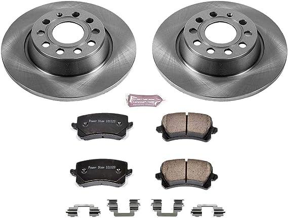 Power Stop KOE5889 Rear Stock Replacement Brake Kit