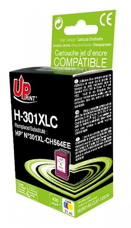 Cartucho de tinta HP n ° C 301 de color para impresora HP DESKJET ...