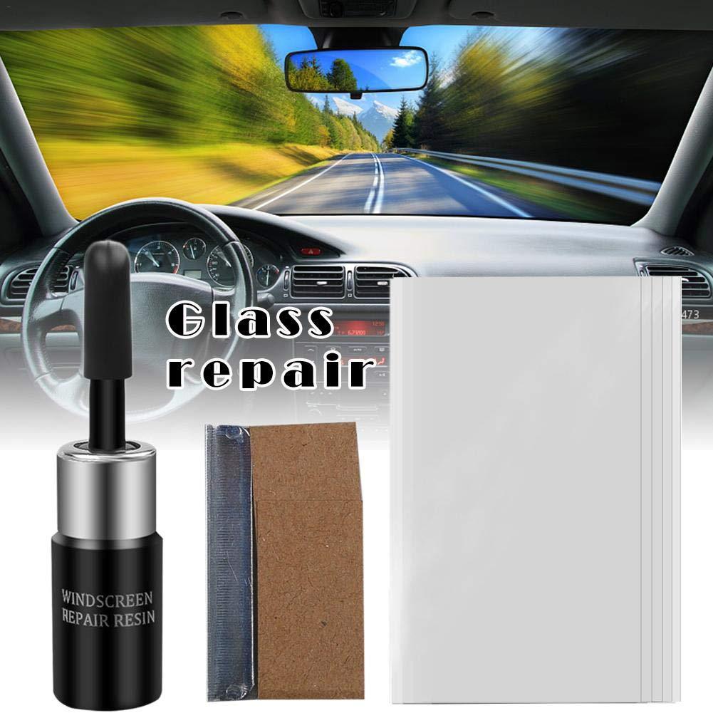 Car Windscreen Glass Repair Tools Auto Windshield Window Polishing Kit Chip Crack Star Bullseye DIY Set Car Accessories cineman Kit De Reparaci/ón De Parabrisas Profesional