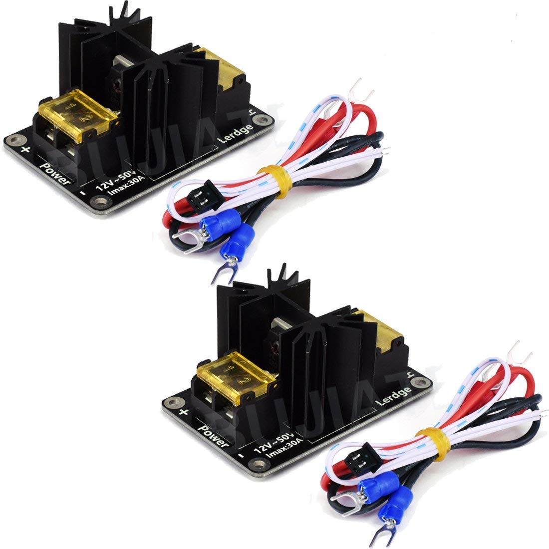 HiLetgo 2pcs 3D Printer 30A Big Current Mos Tube Heat Bed Power ...