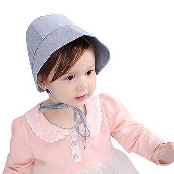haute couture Nouvelles Arrivées sensation de confort Chapeau Bébé Fille Été en Coton Bonnet Garçons Chapeau de ...