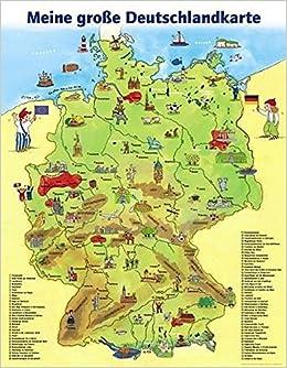 meine deutschlandkarte Meine grosse Deutschlandkarte: LernSpielZwerge Lernposter