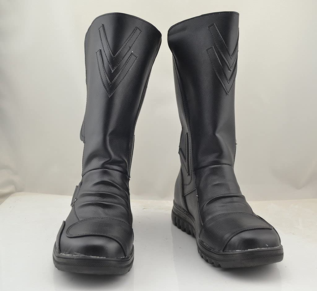 Details about  /Darth Maul Star Wars Cosplay Black Shoes Boots Custom Made Halloween Cos Boots
