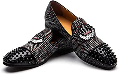 JITAI Zapatos Casuales De Cuero para Hombres Zapatos De Mocasín Zapatos De Boda para Mocasines De Hombre