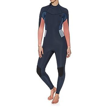 BILLABONG Womens Synergy 3 2MM Flatlock Back Zip Wetsuit Slate - Women s  wetsuit  3 039370501