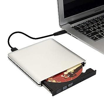 CYSKY Unidad de DVD Externa Interfaz de transmisión USB 3.0 ...