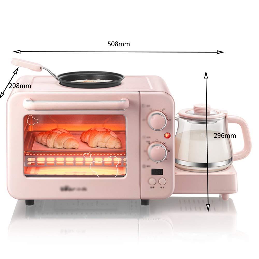 ZCYX オーブン多機能朝食機トースター小さな電気オーブン電気オムレツ絶縁機 -7487 オーブン B07RR15JH4
