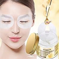 Masque pour les yeux, Snail Essence Eye Mask, Eye Mask, Masques anti-rides pour les yeux, Hydratant Masque Soin Yeux, anti-âge pour les yeux Masque contre les cernes