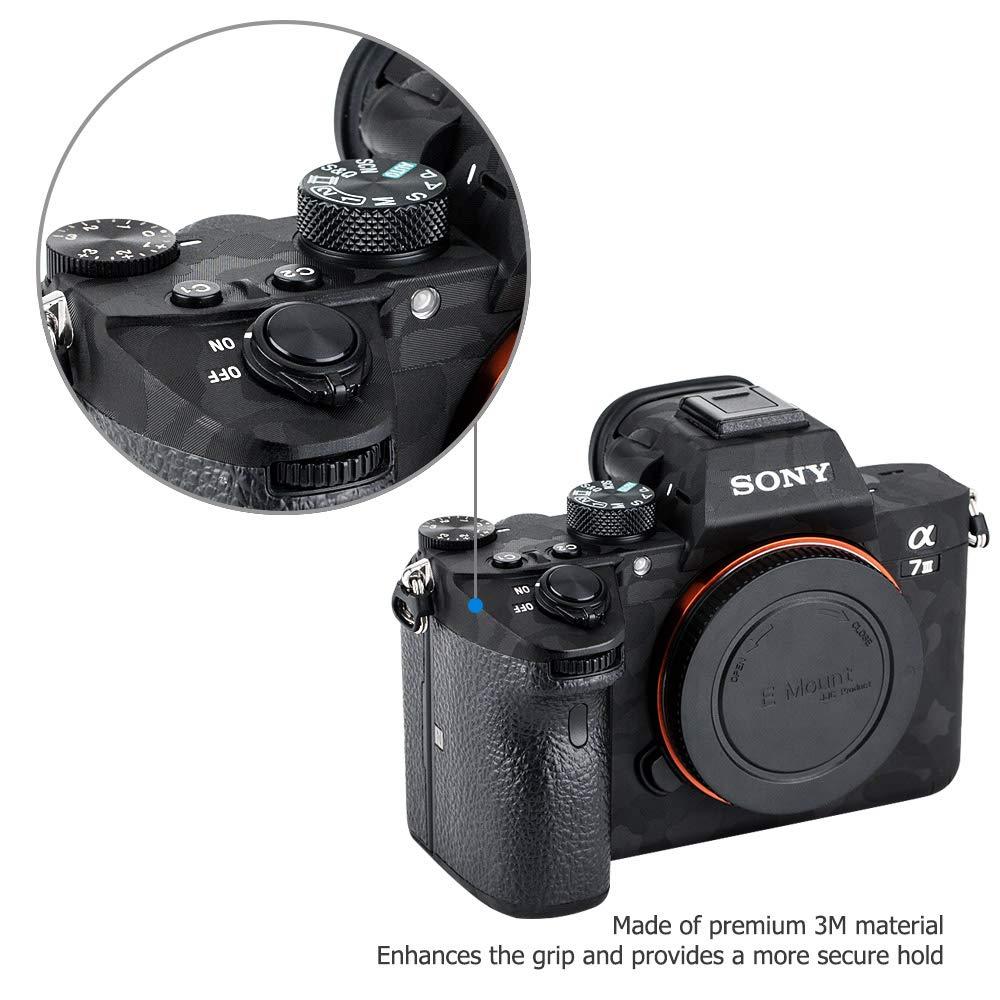 A7III A7RIII Adhesivo de protecci/ón antiara/ñazos para c/ámara Sony Alpha A7 III A7R III