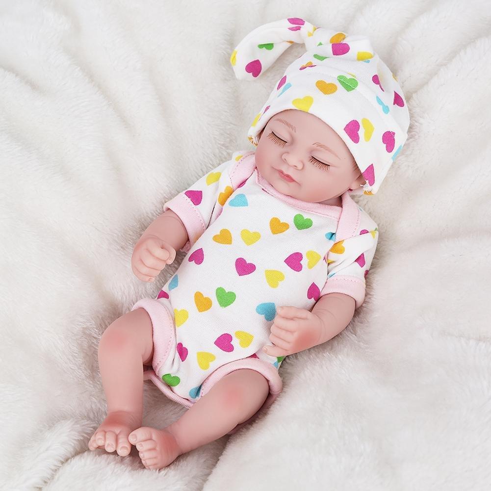 Oshide volle Silikon Körper Real Touch Baby waschbar lebensechte Reborn Puppen realistische Neugeborenes Baby Doll 6
