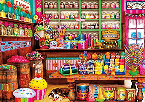 Buffalo Games - Aimee Stewart - Sweet Shop - 300 Large Piece Jigsaw ()
