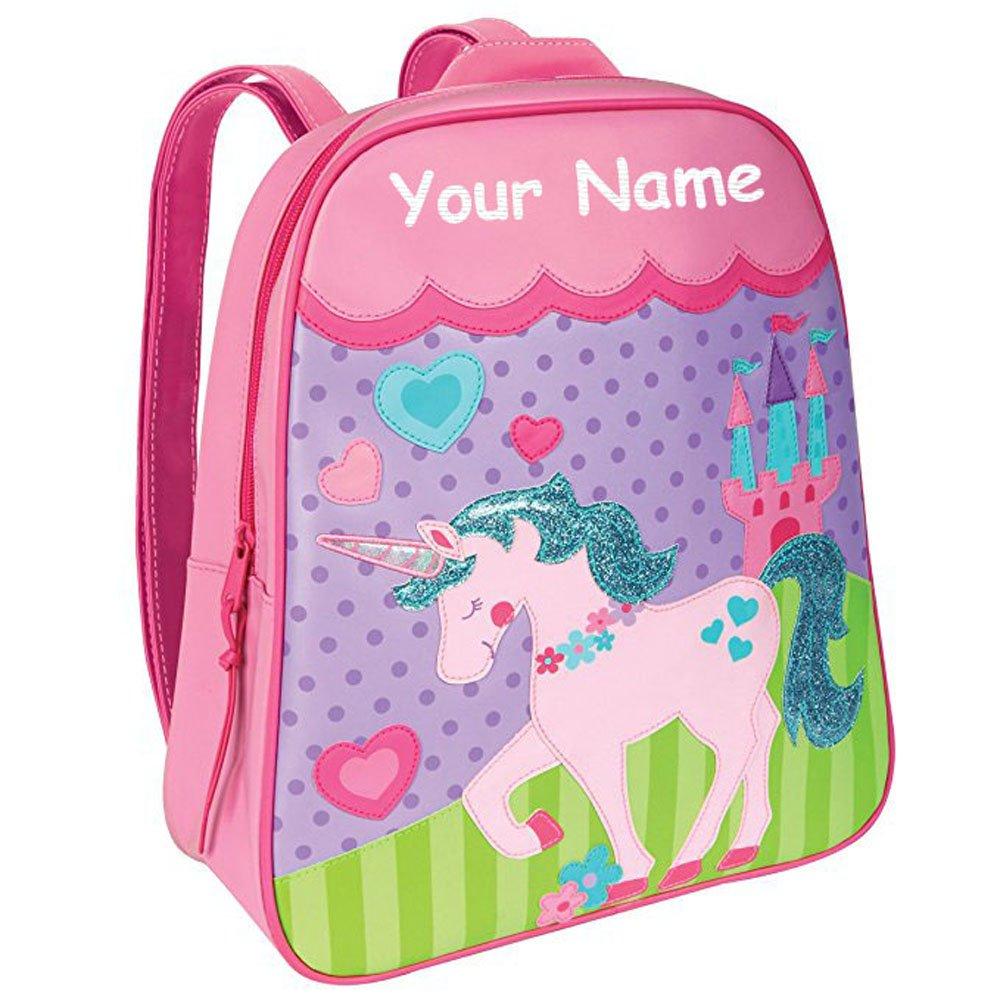Stephen Joseph Personalized Little Girls' Go Go Unicorn Backpack With Name