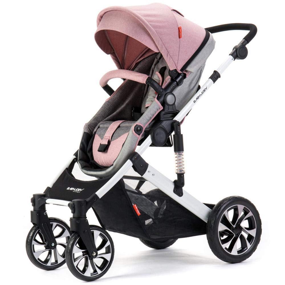 Olydmsky Carro Bebe,Carretilla de suspensión Reversible reclinable Silla de Paseo Alta Vista con el Asiento Ajustable del bebé: Amazon.es: Hogar