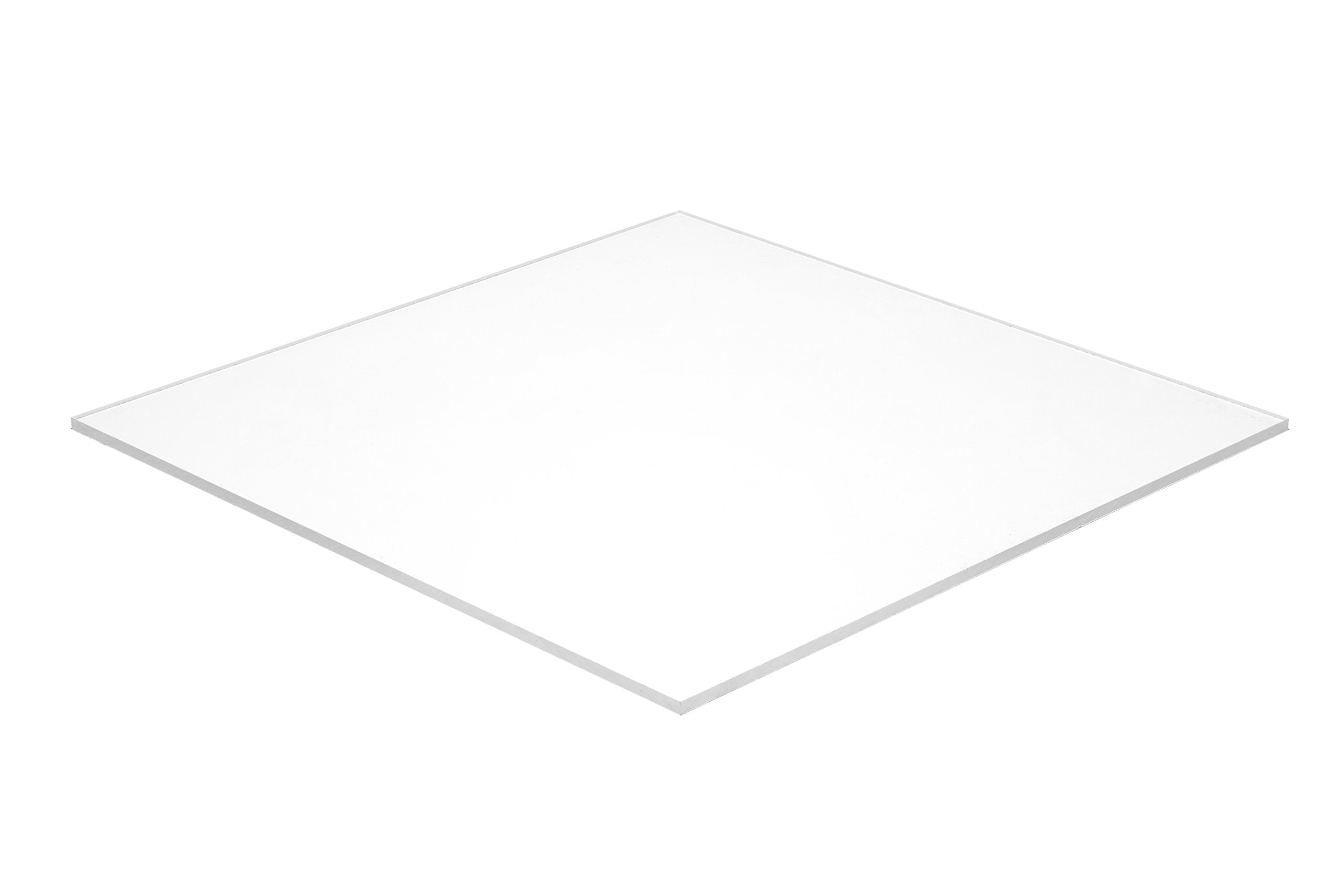 Falken Design WT3015-1-8/2436 Acrylic White Sheet, Opaque, 24'' x 36'', 1/8'' Thick