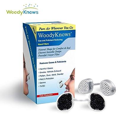 CoziBreath Ultra D/éfense Max Nasaux Filtres Anti-allergie Lot de 12 Filtres de Remplacement