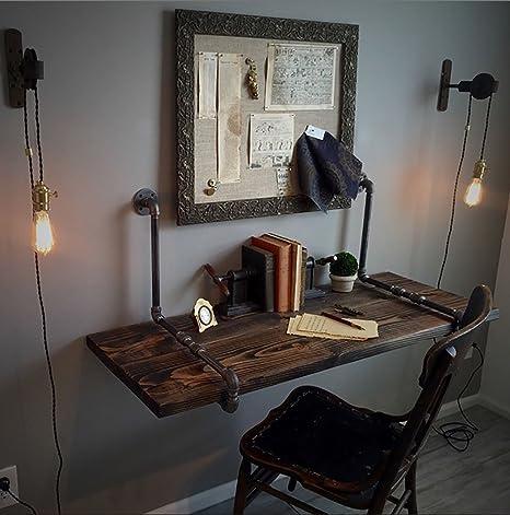 Tavolo da parete in stile industriale americano Tavolo da cucina a ...