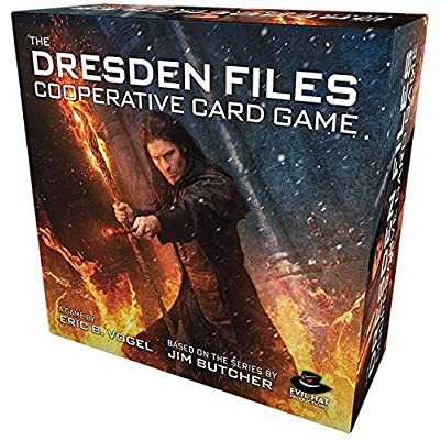 Evil Hat Productions Dresden Files Cooperative Card Game: Toys & Games