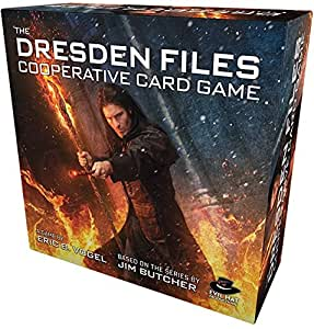 Evil Hat Productions Dresden Files Cooperative Card Game Role Play