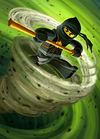 XXW Artwork Lego Ninjago Poster Lloyd Montgomery Garmadon Green Ninja Golden Prints Wall