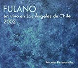 Live in Los Angeles Chile 2002
