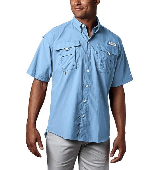 meet bdbfd 5d833 Columbia Men's PFG Bahama II Short Sleeve Shirt